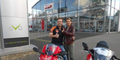 Marcel Porps & Daniela Porps - Motorrad Meyer - Wirkaufendeinbike.de