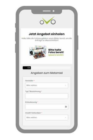 Anfrage ausfüllen & Motorrad verkaufen - WirKaufenDeinBike.de